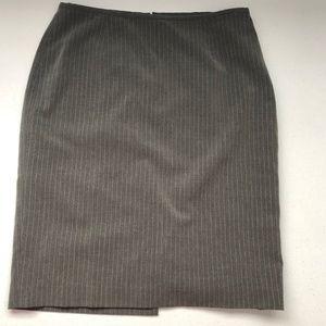 EUC CALVIN KLEIN GREY Pencil Skirt 8